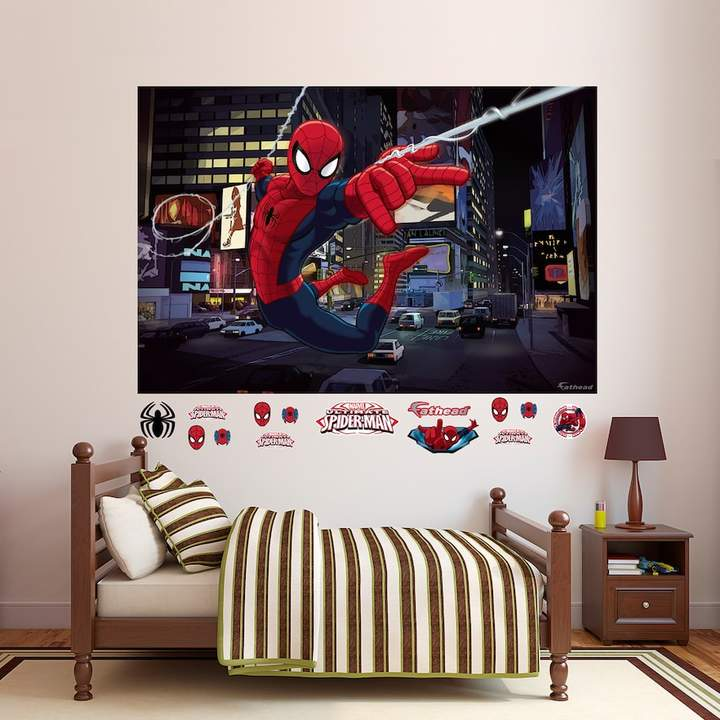 Fathead Marvel Ultimate Spider-Man Mural Wall Decal by Fathead