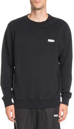 Off-White Basic Crewneck Long-Sleeve Sweatshirt