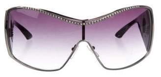 Blumarine Square Gradient Sunglasses