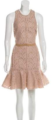 Lanvin Lace Mini Dress