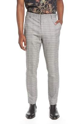 Topman Check Trousers