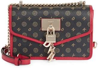 DKNY Mini Elissa Leather Crossbody Bag