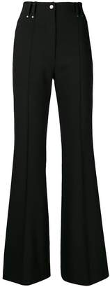 Plein Sud Jeans high-rise flared trousers