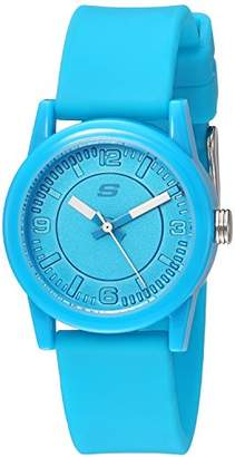 Skechers Women's Rosencrans Mini Quartz Plastic and Silicone Casual Watch