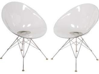 Kartell Pair of Philippe Starck Ero|S| Armchairs