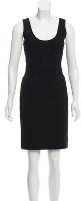 Robert Rodriguez Black Midi Dress
