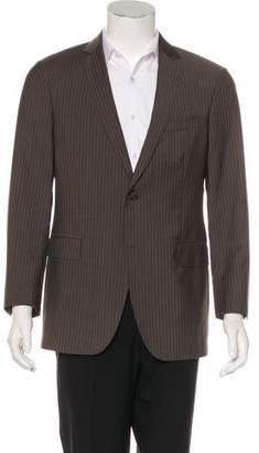 John Varvatos Striped Wool Blazer