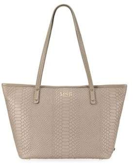 GiGi New York Personalized Embossed Mini Taylor Tote