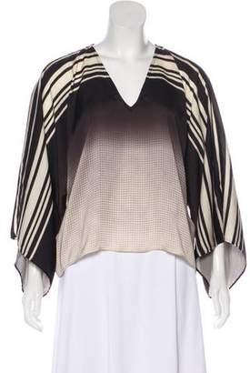 Alexis Printed Long Sleeve Blouse