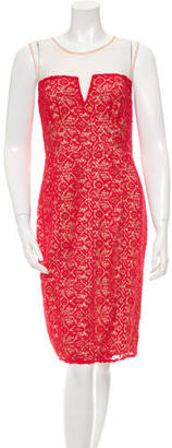 Alice by Temperley Sleeveless Crocheted Dress $115 thestylecure.com