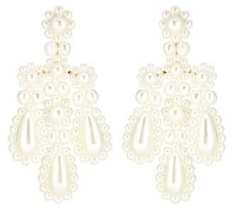 Simone Rocha Faux pearl earrings