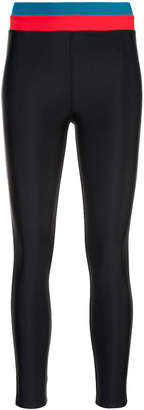 Cynthia Rowley Shock Wave surf leggings