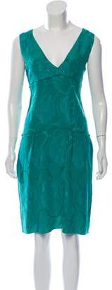 Marni Sleeveless Silk-Blend Dress