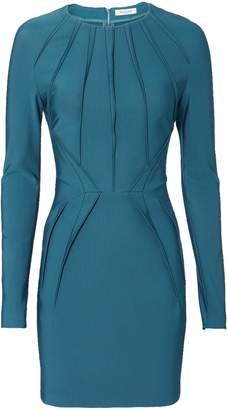 Thierry Mugler Stitched Detail Mini Dress