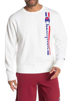 Champion Powerblend Graphic Crew Neck Sweater