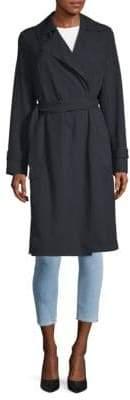 MICHAEL Michael Kors Missy Drapey Trench Coat