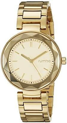 RumbaTime Women's 20229 Madison Gem Analog Display Japanese Quartz Watch