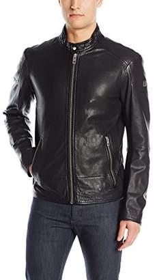 HUGO BOSS BOSS Orange Men's Jofynn Sheep Leather Biker Jacket