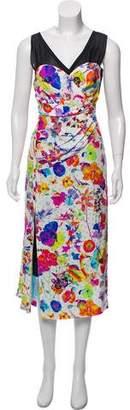 Marc Jacobs Printed Silk Dress w/ Tags