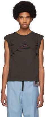 Keenkee Grey Convertible Short Sleeve T-Shirt