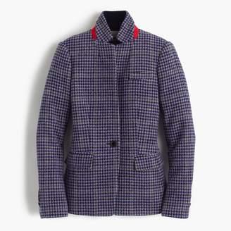 J.Crew Regent blazer in purple houndstooth