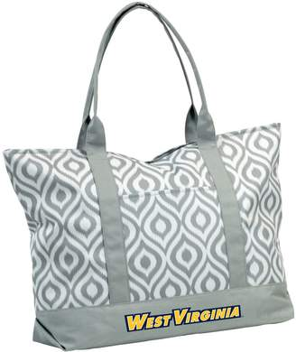 NCAA Logo Brand West Virginia Mountaineers Ikat Tote