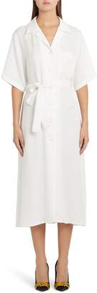 Off-White Logo Jacquard Shirtdress