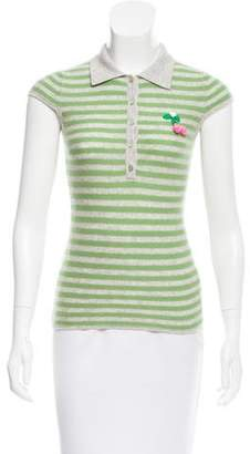 Christopher Fischer Cashmere Striped Top w/ Tags