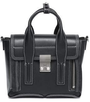 3.1 Phillip Lim Embroidered Leather Shoulder Bag