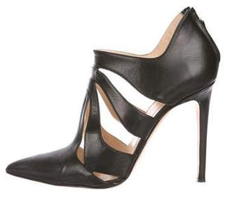 Alejandro Ingelmo Leather High Heel Pumps