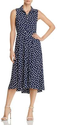 Kate Spade Cloud Dot-Print Midi Dress
