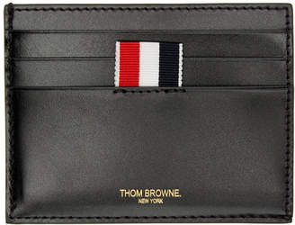Thom Browne Black Embossed Toy Icon Card Holder