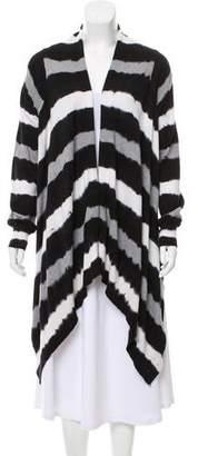 MICHAEL Michael Kors Long Sleeve Striped Cardigan