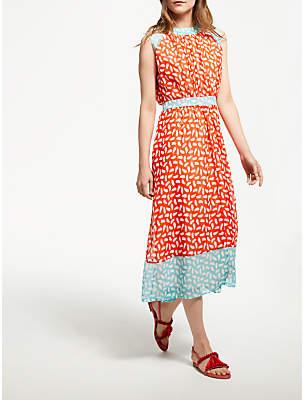Boden Sylvie Brush Stroke Dress