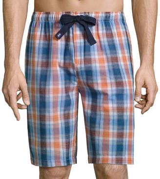 Izod Broadcloth Pajama Shorts-Big