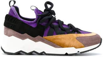 Pierre Hardy contrast panel sneakers