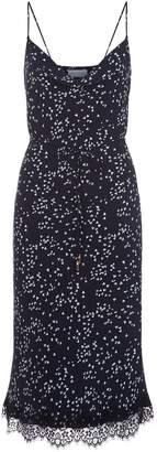 Rebecca Vallance Flores Cami Slip Lace Midi Dress