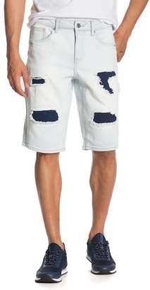 Request Patched Mid Rise Shorts