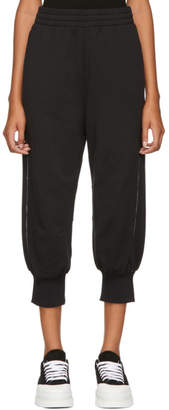 MM6 MAISON MARGIELA Black Jersey Lounge Pants