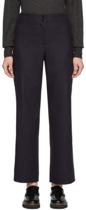 A.P.C. Navy Aglae Trousers