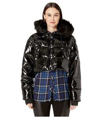 The Kooples Glossy Down Jacket