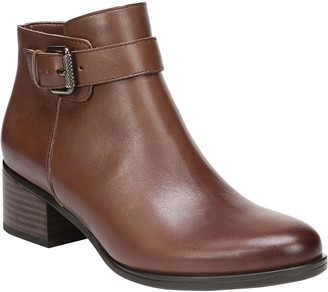 Naturalizer Leather Ankle Boots - Dora