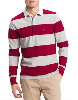 Tommy Hilfiger Iconic Block Stripe Rugby