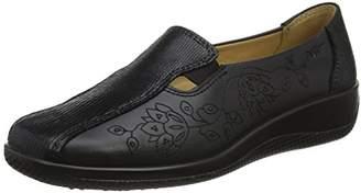 Hotter Women's Calypso Closed-Toe Heels Black Multi, 42 EU