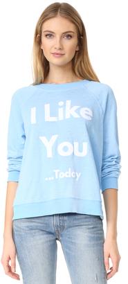 Wildfox There's Always Tomorrow Sweatshirt $108 thestylecure.com