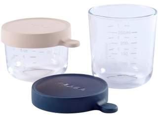 Beaba Glass Lunch Box - 150ml and 250ml