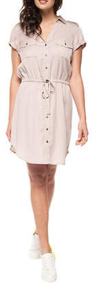 Dex Short Sleeve Shirt Dress