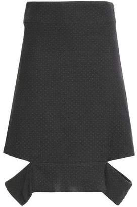 Chalayan Cutout Cotton-Jacquard Skirt