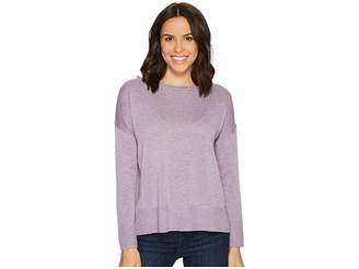 NYDJ Long Sleeve Sweater w/ Exposed Seams Women's Sweater