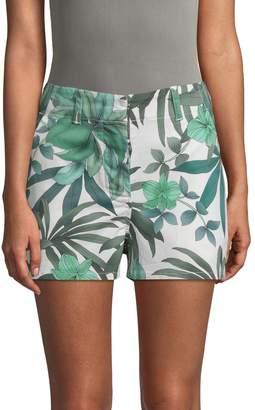 Paul & Joe Sister Women's Rambla Leaf-Print Shorts